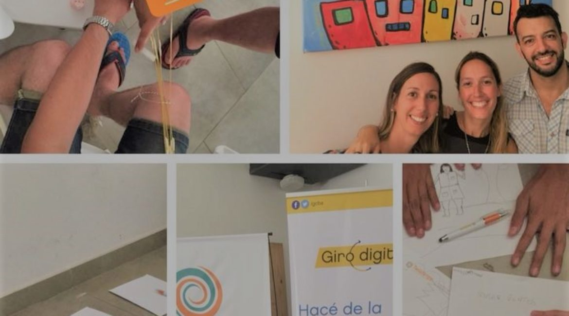 Twistergy working together with Giro Digital at Barrio 31- January 2018